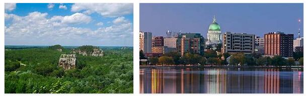 Wisconsin Geography and Landmarks